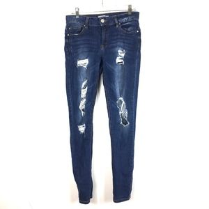 Refuge (Charlotte Rousse) Distressed Denim Jeans 4
